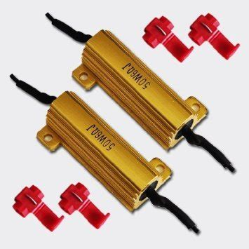 50 watt 6 ohm heat sink resistors turn signal load resistor azrx7 arizonaleds