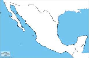 blank us map with mexico www mappi net maps of countries mexico page 2