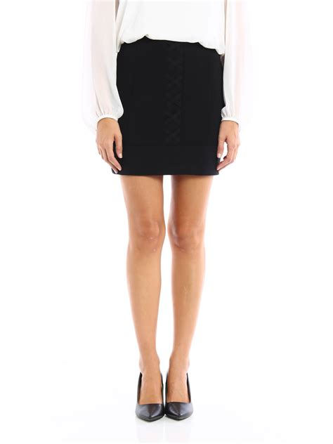 Neil Barrett Skirt fit mini skirt by neil barrett mini skirts ikrix