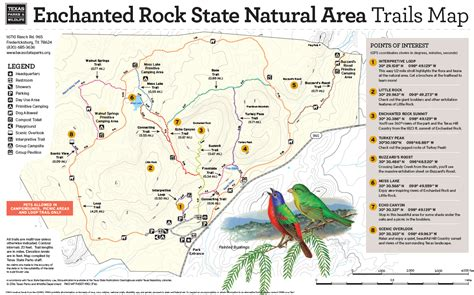enchanted rock texas map whit s wilderness the 3 best hiking trails of enchanted rock