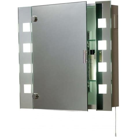 bathroom mirrored cabinets with lights el milos low energy bathroom cabinet 2 light switched