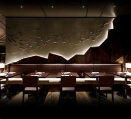 Restaurant Interior Design Ideas by Nobu Japanese Restaurant Interior Design Bars