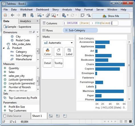 tableau tutorial tutorials point tableau lod expressions
