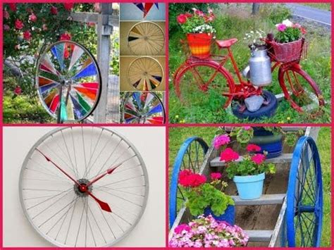 Garden Decoration Bicycle by Bicycle Garden Decoration 30 Diy Ideas