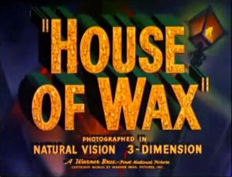 house of wax music house of wax 1953 art of the title