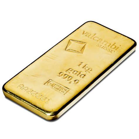 1 Kilo Silver Bar by Buy 1 Kilo Valcambi Cast Gold Bars Silver