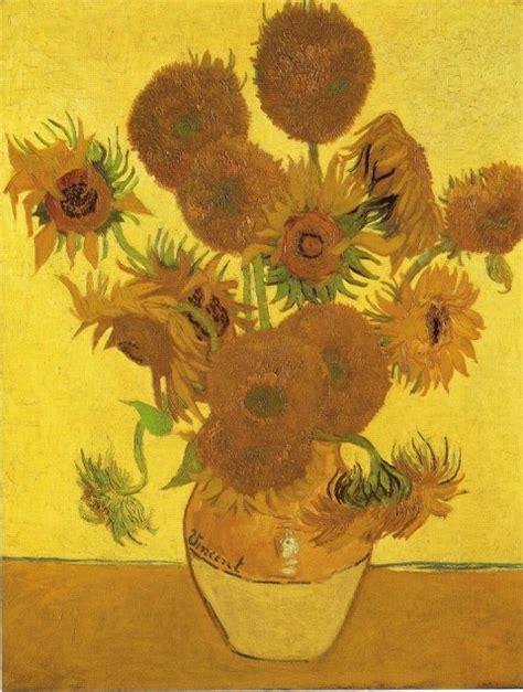 vaso di girasoli gogh l arte nel mondo i girasoli di gogh a londra