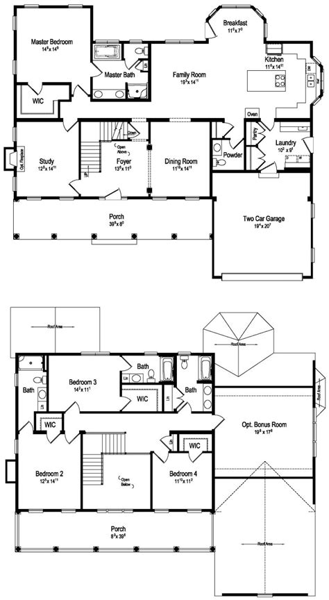 tidewater modular home floor plan