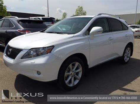 lexus 2010 white lexus certified pre owned 2010 rx 350 awd white on