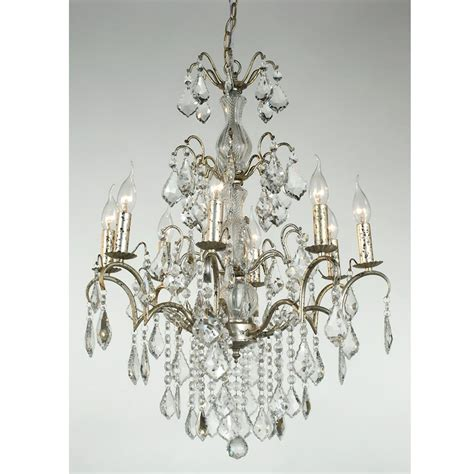 Silver Bedroom Chandelier 8 Arm Chrome Antique Style Chandelier Lighting