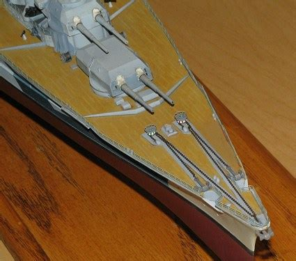 tamiya 1/350 dkm tirpitz, reviewed by kevin krueger