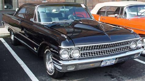 1961 Ford Starliner 1961 Ford Starliner Black Front Angle