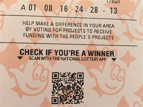 National Lottery Instant Wins - camelot posts record mobile figures brings qr codes to