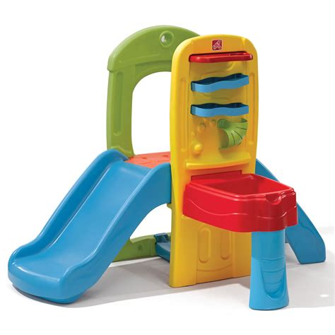 step 2 toddler slide and swing play ball fun climber kids climber step2