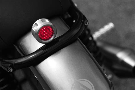 led glow lights for motorcycle revolver universal led motorcycle tail light analog