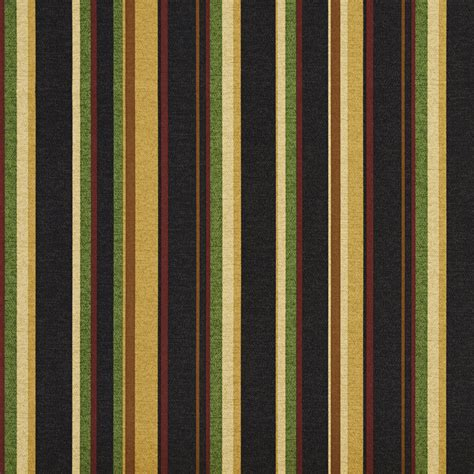 Striped Upholstery Fabrics by Black And Gold Various Striped Outdoor Print