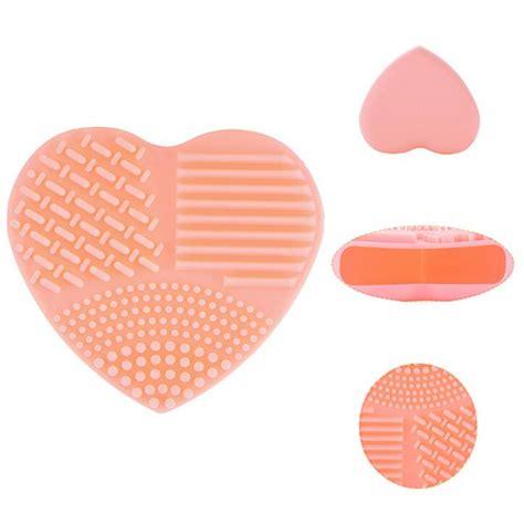 Egg Brush Pad egg shape cleaning glove makeup brush cleaners washing scrubber pad ebay