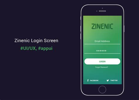 3 mobile login mobile app login screen design appui on behance