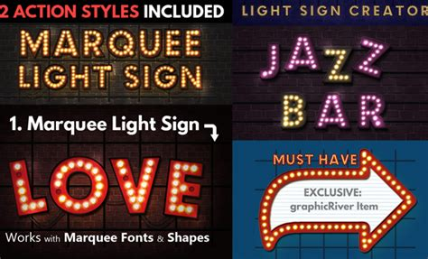 html tutorial marquee effects neon styles and psd mockups for photoshop psddude