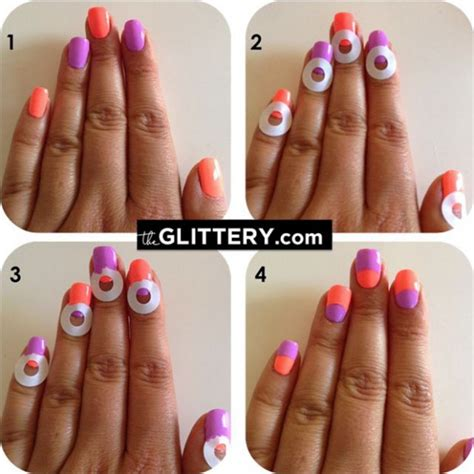tutorial design nails 25 great nail art tutorials for cute and fancy nails