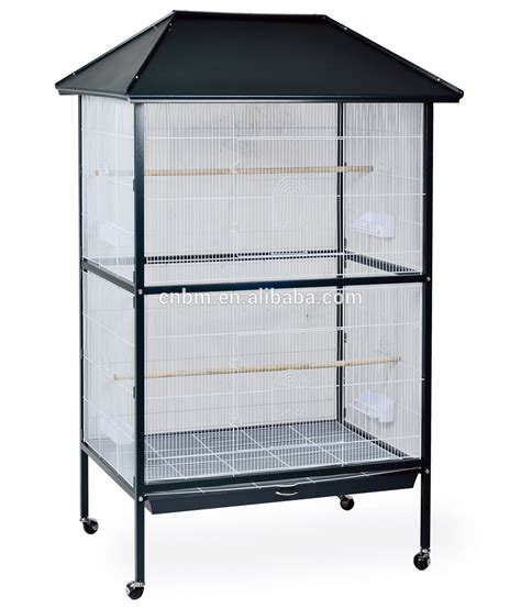 Kandang Acrylic big parrot cages with iron and wooden perches buy big bird cages iron cages parrot cages