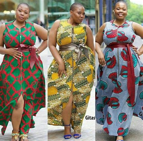 big gals rock ankara buba pix voluptuous perfection apaļās pinterest africans