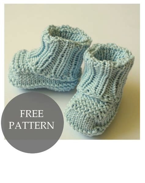 knitted shoes pattern free knit baby shoes free pattern