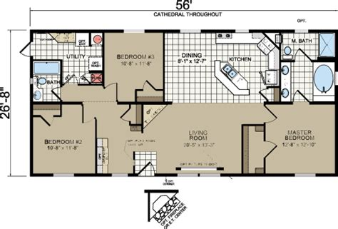 Morton Building Homes Floor Plans Redman A526 30 X 60 Morton Building House Plans