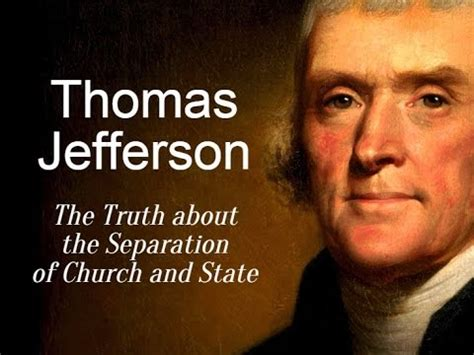 Explanation Of Jefferson S Letter To The Danbury Baptists jefferson the about the separation of