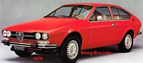 alfa romeo 70s alfa romeo alfetta gt smog era 70s 80s cars