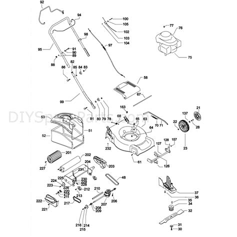 mcculloch parts diagram mcculloch m46 500cd 96685500101 parts diagram page 1