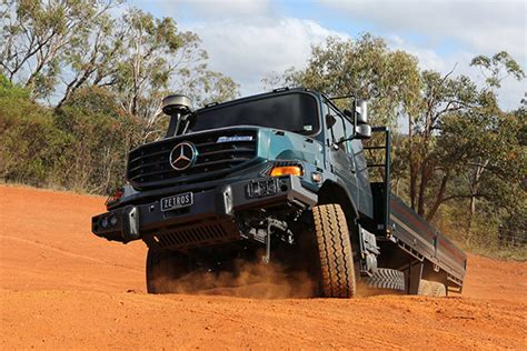 mercedes truck 4x4 mercedes zetros 4x4 and 6x6 truck review