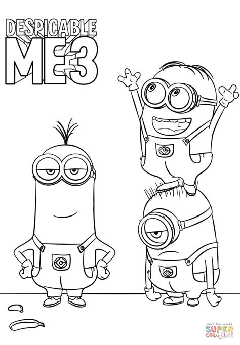 minion firefighter coloring page awesome design ideas printable minions coloring pages