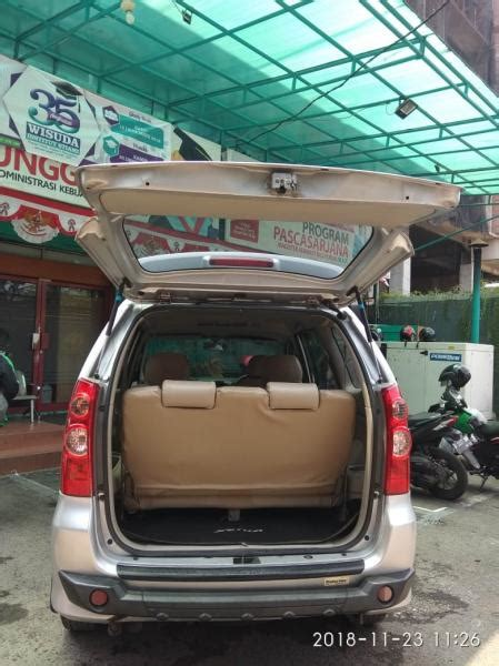 Toyota Avanza G Manual 1 3 toyota avanza type g 1 3 manual tahun 2011 silver metalik