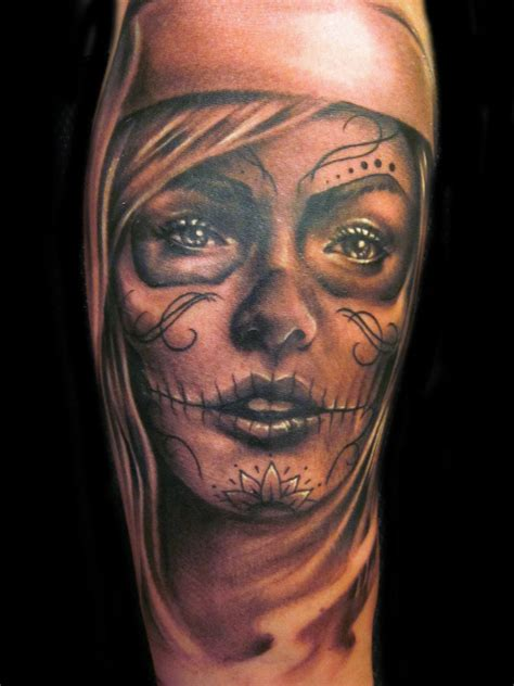 female skull tattoos day of the dead tattoos designs ideas and meaning