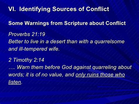 Ways To Deal With An Ill Tempered by 05 03 09 Identifying Major Sources Of Conflict In Marriage
