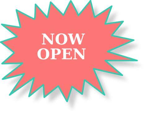 open sign clip art  clkercom vector clip art