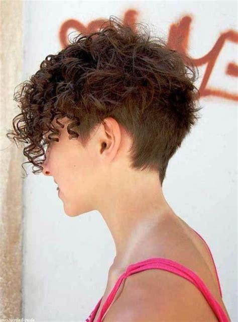 curly hairstyles undercut curly undercut pixie www pixshark com images galleries