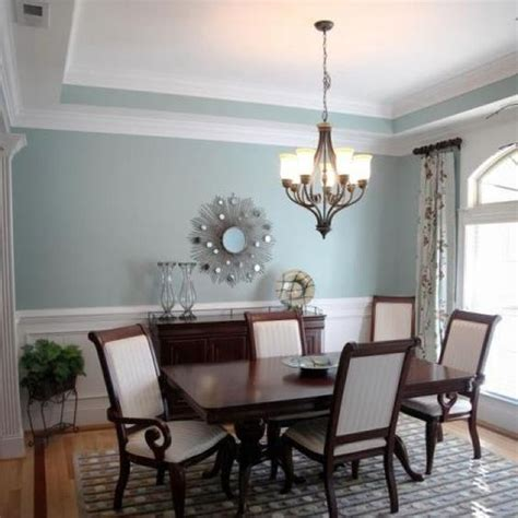 dining room wall color ideas love the wall color gossamer blue by benjamin moore want