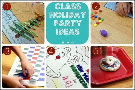 christmas party ideas for college students elementary school class