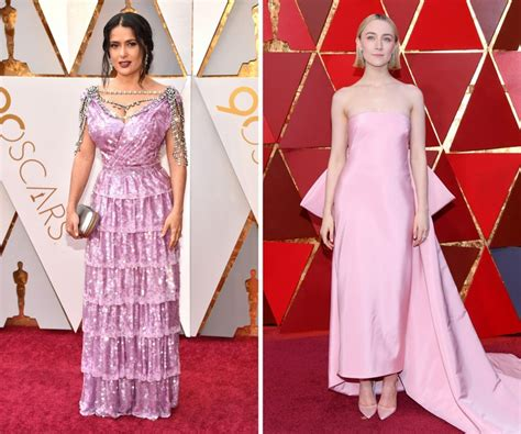 Oscar Trends To All White On The by Oscars 2018 All The Carpet Trends