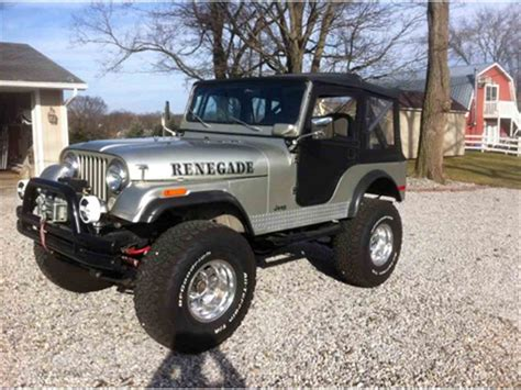 Classic Jeep For Sale 1975 Jeep Renegade For Sale Classiccars Cc 967154
