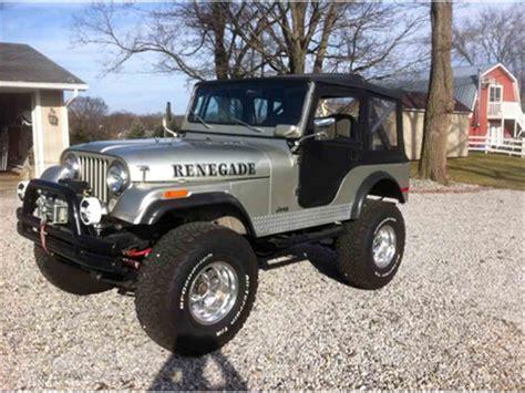 classic jeep wrangler 1975 jeep wrangler for sale classiccars com cc 967154