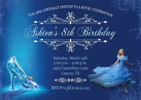 cinderella invitation to the template cinderella invitation cinderella by belleamitiedesigns