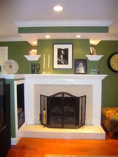 brick fireplace makeover decor design i like