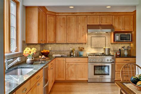 Pickled Maple Kitchen Cabinets Pickled Maple Cabinets Kitchen Contemporary With Ceiling Lighting Wall Mount Range Hoods