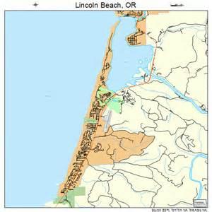 lincoln oregon map 4142550