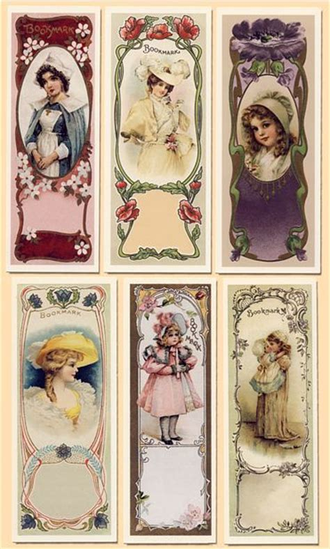 printable victorian bookmarks online shopping bookmarks and galleries on pinterest