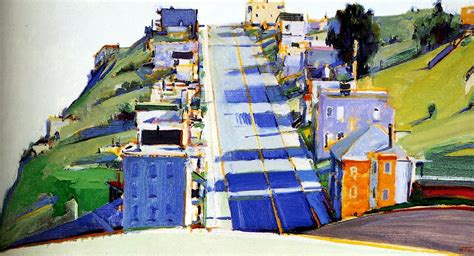 art artists wayne thiebaud landscapes