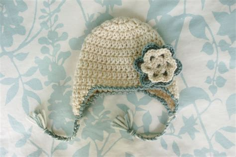 free crochet pattern newborn flower hat alli crafts free pattern baby earflap hat newborn
